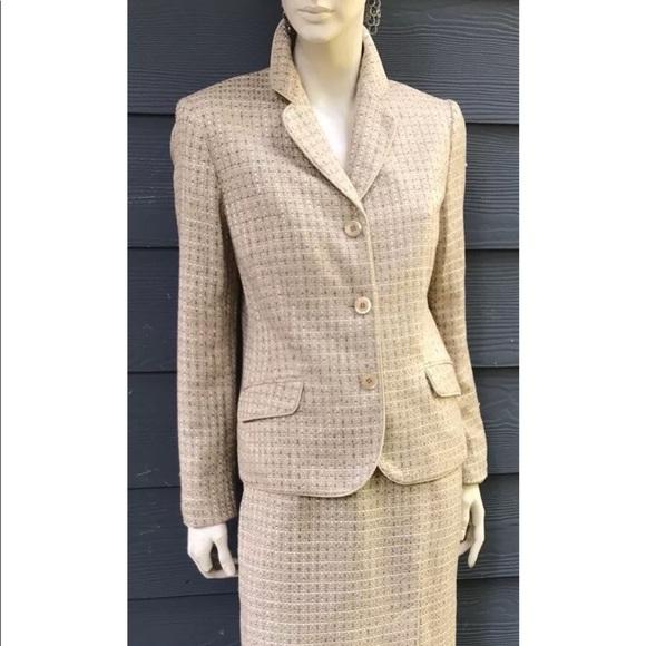 Jones New York Jackets Coats Suit Women 2 Pc Skirt Suit Sz 12
